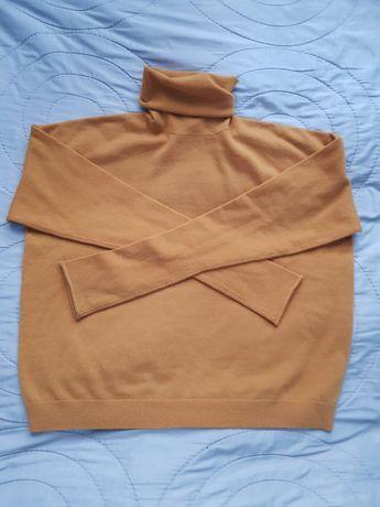 Cos sweter golf kaszmir S 36 damski nowy