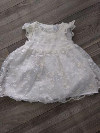 Sukienka koronkowa Reserved roz 80 jak