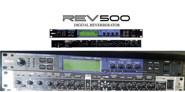 Yamaha Rev 500 ,Digital Reverberator - ACEITO TROCAS - Negociavel