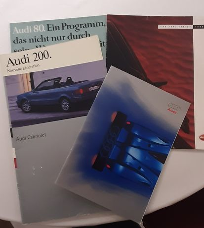 Prospekty samochodowe Audi