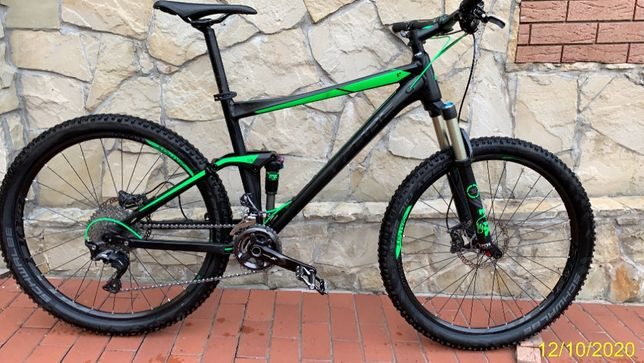 CUBE Stereo 120 HPA SL black in green 2016