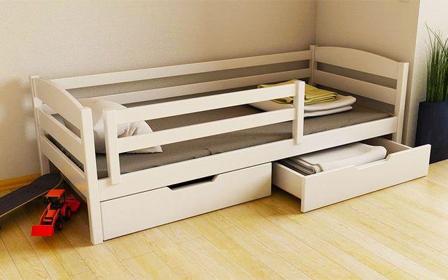 Кровать Детская Деревянная Тобби 160х80 из Ольхи Подростковая Кроватка