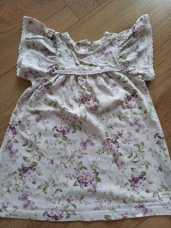 Sukienka newbie w bzy, r. 86