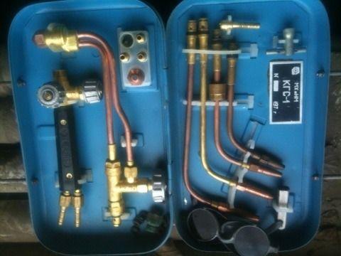 Пропановый комплект газосварщика КГС-1