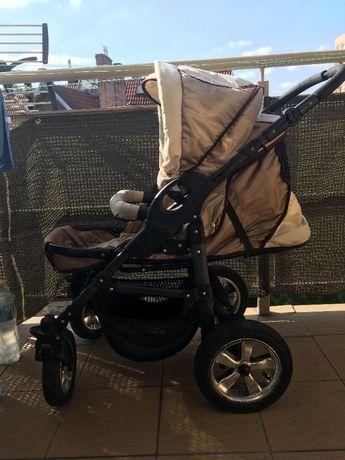Wózek dziecięcy 3w1 ZAGMA