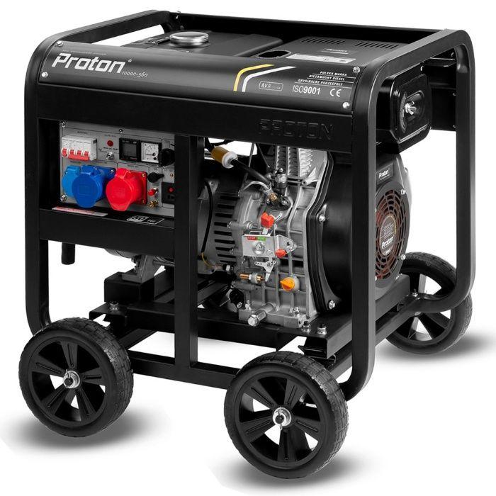 Agregat prądotwórczy Diesel 14kVA Dual POWER / AVR Rososzyca - image 1