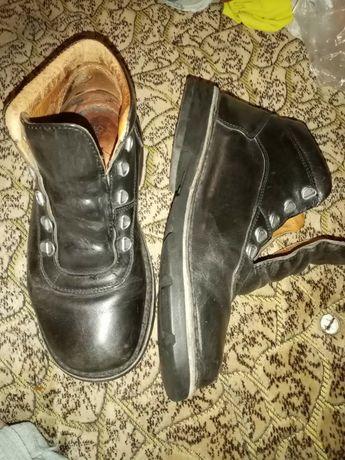 кожа ботинки сапоги туфли