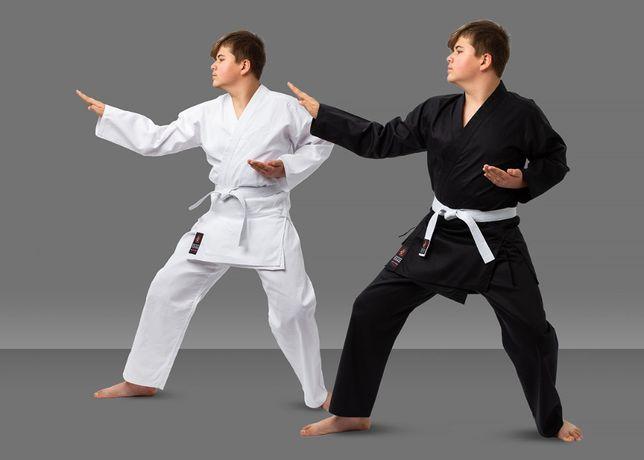 Кимоно для карате дзюдо айкидо джиу джитсу белое кимано Matsa Wolf