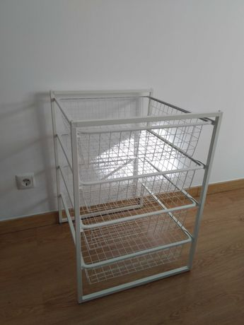 Ikea Bloco de cestos metálicos Jonaxel