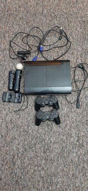 Konsola PS3 +dodatki