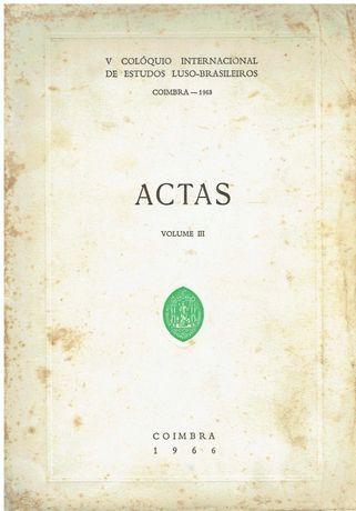 8322  V Colóquio  de estudos Luso-Brasileiros Actas - Volume III