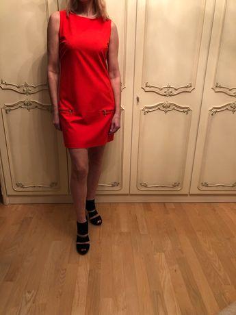 Czerwona sukienka mini Mohito r.38