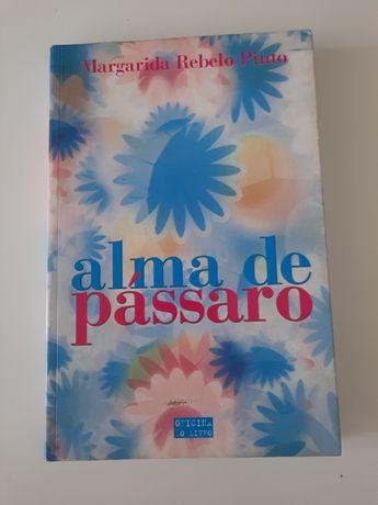 Livro Alma de Pássaro de Margarida Rebelo Pinto