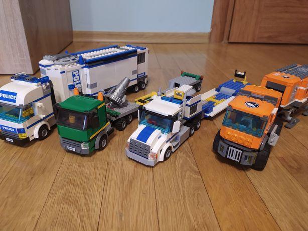 Zestawy lego city i lego creator
