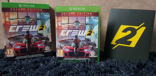 The Crew 2 Deluxe Edition 4K ULTRA HD PL na Xbox one