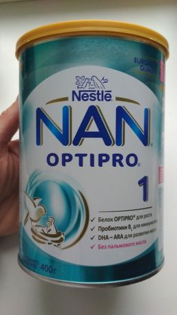 Смесь Nan Optipro 1 100 руб.
