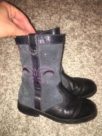 Дитячі чобітки сапожки осінні для дівчинки 27 розмір Super Fit