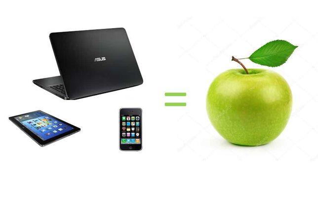 ВАШ планшет, ноутбук или мобильный = APPLE