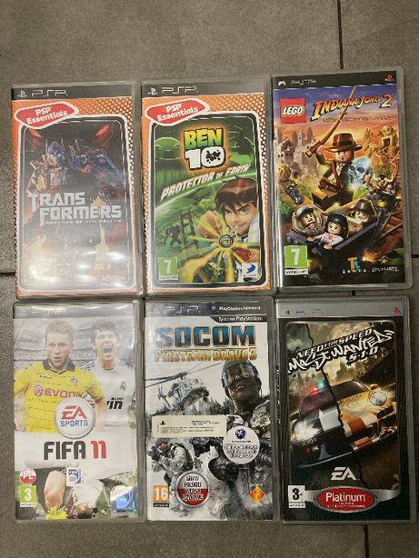 6 gier na PSP do sprzedania