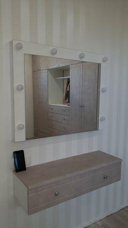 Гримерное зеркало, инста зеркало, голливудское зеркало.