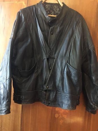 Кожаная куртка 46 размер