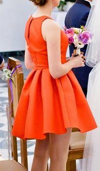 Czerwona sukienka rozm. XS, S, na ślub, wesele i nie tylko