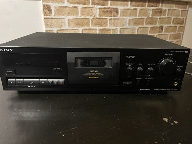 Deck Cassetes Sony tc-k615s