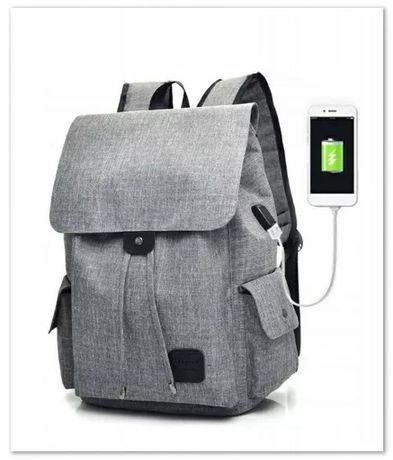 Plecak na Laptop - Szkolny Uniwersalny zgodny z IPhone n.gen.