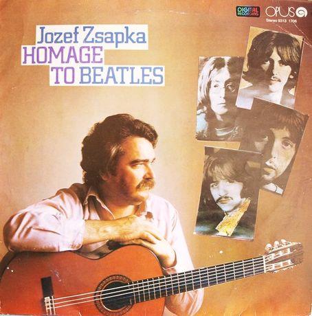 HOMAGE TO BEATLES Jozef Zsapka - Płyta LP Vinyl 33