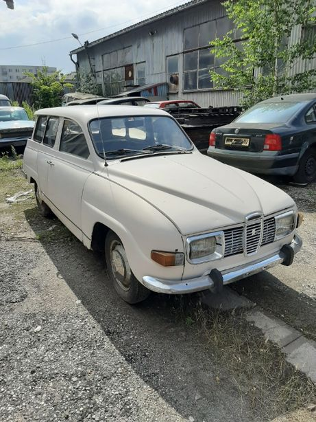 SAAB 95 Kombi 1971 rok silnik V4