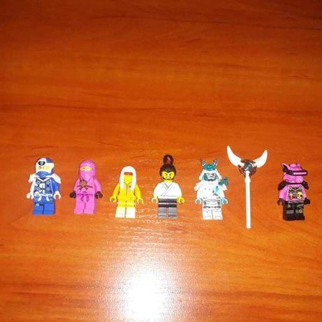 Figurki Lego NINJAGO - 6 Figurek Nie podrubki