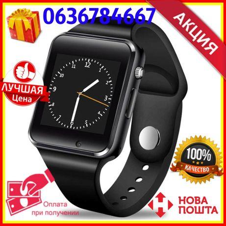ХИТ! Детские смарт часы Мини телефон Смарт годинник A1 Smart Watch