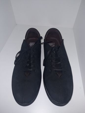 Туфли подростковые (замшевые/новые)