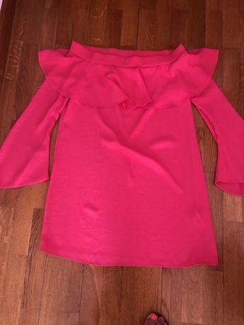 Vestido rosa fuxia