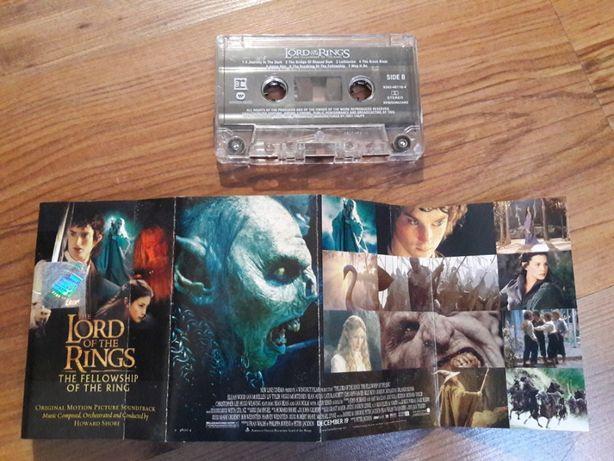 Kaseta audio Lord of The Rings Soundtrack Howard Shore 18 utworów