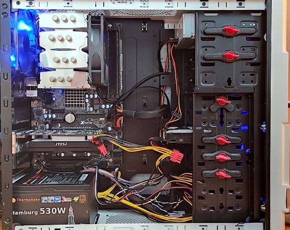 Amd Fx Eight Core 8350 8x4.0 8GB RAM HDD Grafika Radeon MSI R7  GTX660