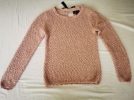 Różowy sweter RESERVED rozm. Xs