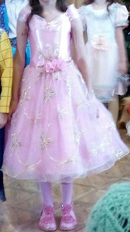 Бальное,выпускное платье/ сукня 5-7 років