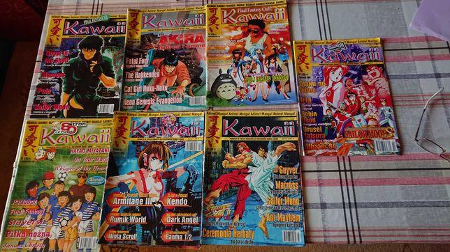 Czasopisma Kawaii z lat 1998 i 1999