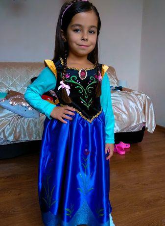 Disney плаття Анни карнавальный костюм платье Фрозен Эльза принцесса