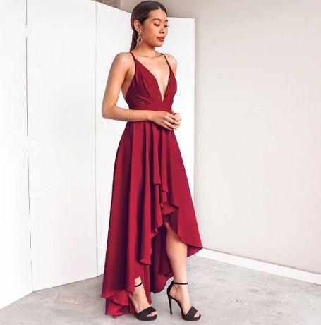 Vestido Vermelho NOVO * Tam. L