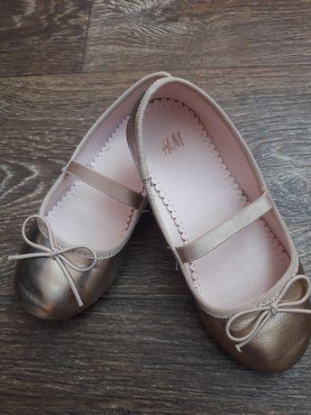 Туфли, туфельки h&m размер 27