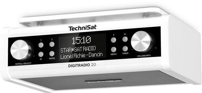 Technisat Digitradio 20 radio DAB+ podwieszane kuchenne