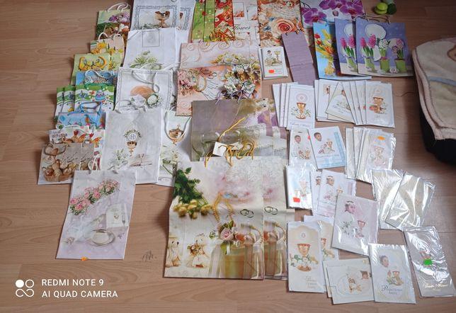 Torebki prezentowe i kartki na różne okazje