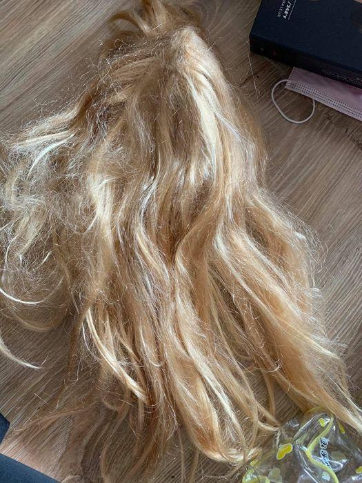 blond peruka, peruka, peruka do zabawy, peruka - przebranie
