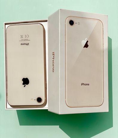 IPhohe 8 Gold 64GB б/у в отличном состоянии.