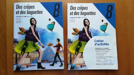 Des Crêpes et des baguettes 8 Manual +Caderno