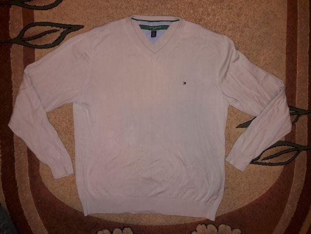 Tommy Hilfiger meski kremowy sweter r. L