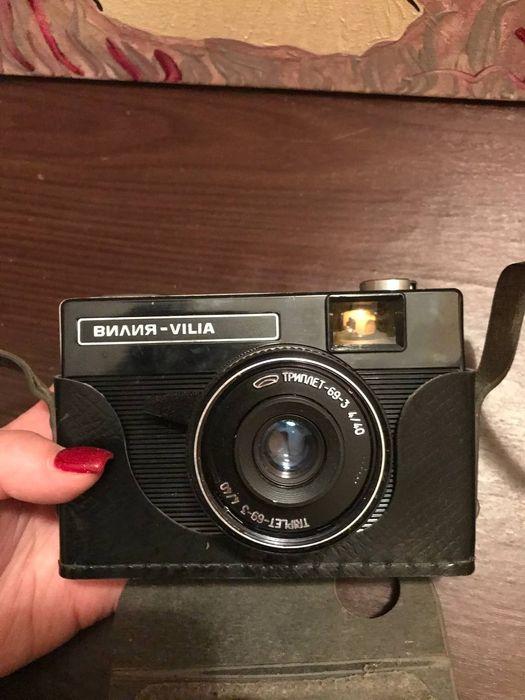 Пленочный фотоаппарат Вилия Vilia Николаев - изображение 1