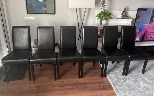 Conjunto 6 cadeiras sala